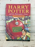 Harry Potter and the Philosopher's Stone 1st Edition 45th Print Paperback 1997