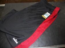 Spalding Red & Black Loose Basketball Athletic Shorts MENS XXL NWT