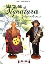 Marks and Signatures of French Christmas crib figures
