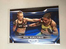 F50590 2020 Topps UFC Knockout Blue /75 Rose Namajunas
