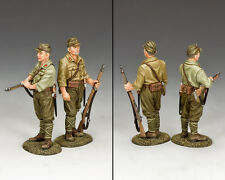 KING AND COUNTRY WW2 Airfield Guard, Imperial Japanese Army JN23 JN023