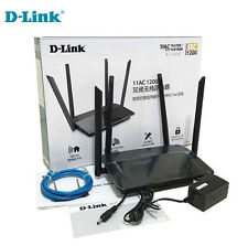 D-Link DIR-822 AC1200 Wi-Fi Wireless Router 802.11AC Dual Band WiFi 4 Antennas