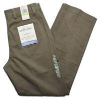 Dockers #8817 NEW Men Straight Fit Flat Front Comfort Waistband Easy Khaki Pants