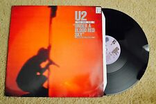 U2 Live Under A Blood Red Sky German Record lp VG+