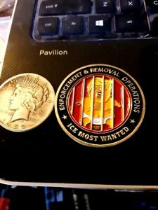 RARE NUMBERED BIG FAT CRYBABY TRUMP TANTRUM CHALLENGE COIN