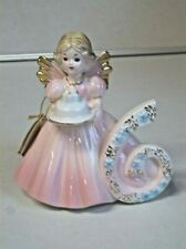 Josef Originals 6Th Birthday Angel With Tags - Excellent Condition