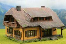 ☝️Diorama H0 1:87 Faller Bauernhaus+Beleuchtung Patiniert Modellbau aus Potsdam