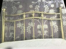 Single bed Victorian Style Brass Headboard, 3ft Bed.