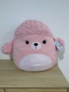 """Squishmallows Chloe The Poodle 16"""" BNWT HTF"""