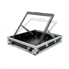 "Titan AV Road Case 19"" 12RU Adjustable Rack Mixer Case"