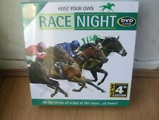 NEW & SEALED RACE NIGHT 4 DVD HOST YOUR OWN HOURSE RACING FAMILY PARTY FUN 4 ALL