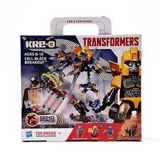 Transformers Hasbro Età dell'estinzione Kre-O Construsione 135pz Set Cell Block