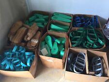 (8) BOX STEEL RULE DIE CUT SHOE SOLE & FOOT MOLD (prosthetic Business)
