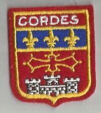 ECUSSON A COUDRE CORDES SUR CIEL 81 TARN 6.5X5 CM