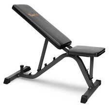 Adjustable FID Bench Press Flat Incline Decline Bench Seat Weight Gym Exercise