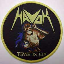 havok time is up WOVEN  PATCH