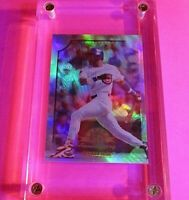 1998 Donruss Collections LEAF #343 Sammy Sosa PRIZED Refractor MINT