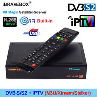 iBRAVEBOX V8 Magic WIFI DVB-S2 Satellite TV receiver Stalker HD Set-Top Box