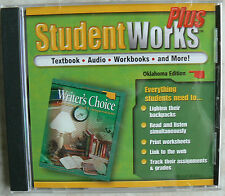 Glencoe WRITER'S CHOICE,StudentWorks Plus gr.8/8th CD-Rom NEW - S/S 0078658101
