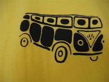 VW Volkswagen Bus/Van Men's LG Short-sleeve T-Shirt,Kerri's Creations, Yellow