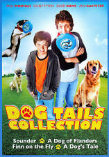 4 family G & PG dog kids movies, new DVDs Flanders Dog's Tale, Finn Fly, Sounder
