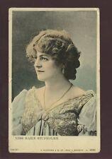 ACTRESS 1906 PPC MARIE STUDHOLME COLOUR REAL PHOTO