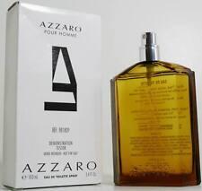 AZZARO pour Homme For Men Eau de Toilette EDT 3.4 oz 100 ml IN WHITE COLOUR BOX
