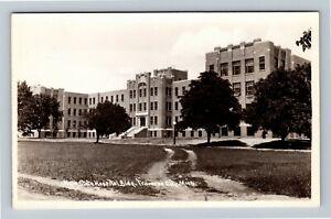 RPPC Traverse City MI-Michigan, State Hospital Lunatic Insane Asylum Postcard