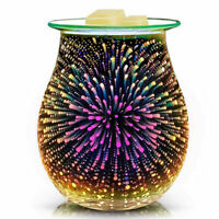 3D Electric LED Holographic Aroma Touch Lamp Wax Melting Burner Touch Hot