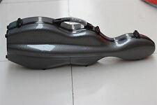 Quality 4/4 Violin Case Composite Carbon Fiber Violin Case Black Violin Case 1.4