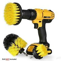 3 x Drill Brush Cleaner Electric Drill Power Scrubber Cleaning Combo Tool Kit
