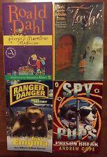 4 BOOKS RANGER IN DANGER, SPY PUPS PRISON BREAK, GEORGE'S MARVELLOUS MEDICINE +