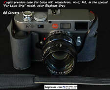*LUIGI CASE to LEICA GRIP for M9,MONOCHROM1,M-E,M8,DELUXE STRAP,UPS/DHL INCLUDED