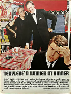 Imperial Chemical Industries Ltd Terylene A Winner At Dinner Vintage Advert 1966