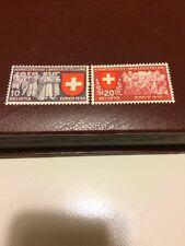Switzerland stamp 1939 MNH part National Philatelic Exhibition-German Insc