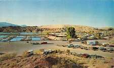 Bullhead City Arizona Lake Mohave Resort Birdseye View Vintage Postcard K48490
