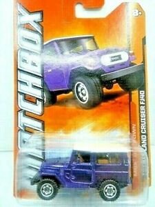 Matchbox 2012 MBX Old Town Toyota Land Cruiser FJ40 Diecast Car New In Package