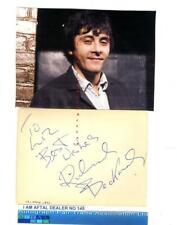 Richard Beckinsale vintage signed page, Porridge  AFTAL#145