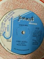 "Wayne Smith/Nitty Gritty-Come Along/False Alarm 12"" Vinyl Single DANCEHALL"