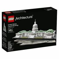 LEGO 21030 THE US CAPITAL BUILDING - LEGO ARCHITECTURE ** NEW ** GOOD CONDITION