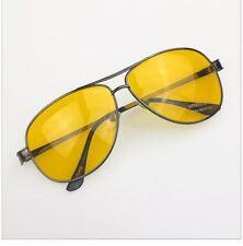 HD Night Vision Driving Anti Glare Glasses Eyewear sun glass gun Metal Frame