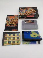 Breath of Fire Super Nintendo SNES w/ Box, 2x Posters & Manual Tested Authentic
