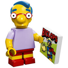 LEGO SIMPSONS 71005 ** Milhouse Van Houten  ** MINIFIGURE  MINIFIG #9 NEW