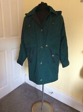 Ladies coats size 10 David Barry Dark Green