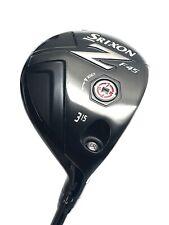 New listing SRIXON F45 15deg No.3 FAIRWAY - BRAND NEW - STIFF FLEX - MENS RIGHT HAND