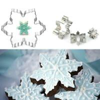 Star Snowflake Cookie Cake Jelly Biscuit Metal Cutter Baking Mold DIY Shan