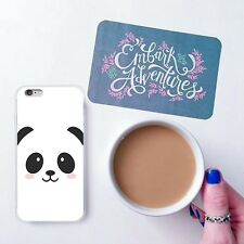 DIY Coque Silicone Panda Souriant Super Mignon Etui Housse Imprimé Ultra-Mince