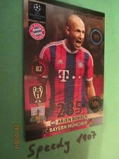 Champions League 2015 Limited Edition Robben Panini Adrenalyn 14 15