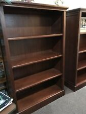 Pottery Barn Mahogany Bookcase