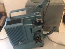 Bauer T10 Vintage Film Projector In Carry Case Blue T10 Projector